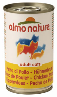 almo nature natural tinned kitten food